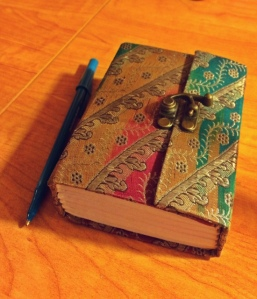 My itty bitty gratitude journal.