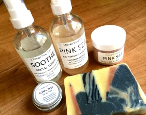 Change Soap Co. products